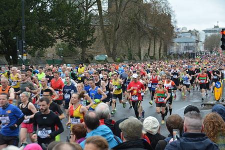 Marató, corrent, corredors de Marató, Jogger, esport, gimnàs, executar