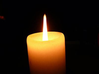 stearinlys, Candlelight, voks, atmosfære, Romance, stearinlys flamme, lys