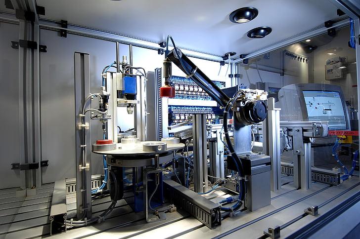 Technológia, priemysel, stroj