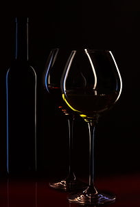 veinipudel, veiniklaasi, veini, meeleolu, veinikaart, vedelik, punane vein