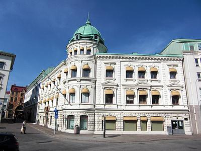 kinesiska ambassaden, Sverige, Göteborg, Downtown, arkitektur, byggnader