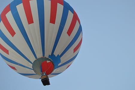 luftballong, Ballongflygning, flyg, ballong, luft, heta, Sky