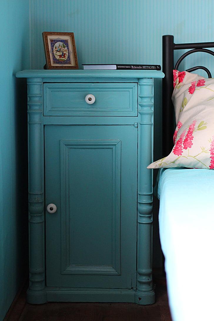 nightstand, bedroom, bedside, cabinet