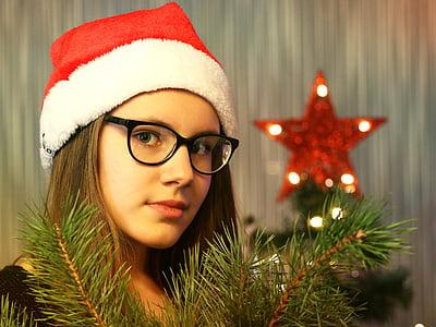 Ajunul Anului Nou, Moş Crăciun, pomul de Crăciun, vacanta, Crăciun, cadou, felicitare