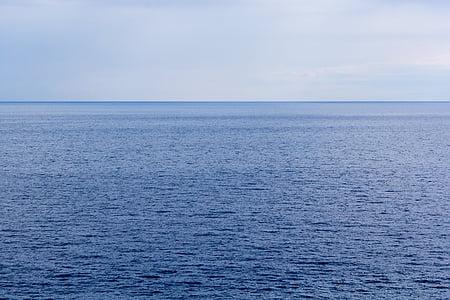 mer, horizon, Sky, océan, océan Arctique, océan Atlantique, océan Indien