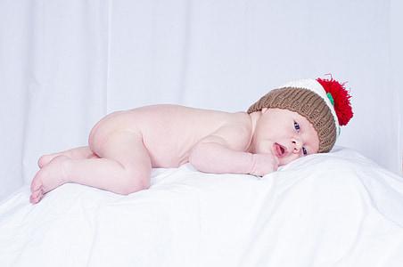 赤ちゃん, 肖像画, 子, かわいい, 若い, 新生児, 小さな