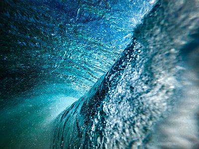 oceà, l'aigua, ones, blau, líquid, Aqua, Mar
