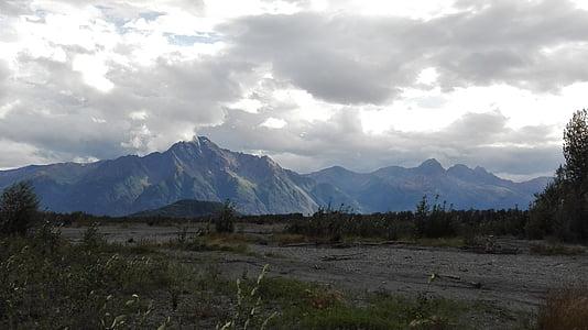 muntanyes, Alaska, paisatge