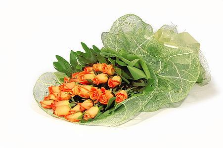 Ofrena floral, graduació, Felicitacions, flors, RAM, fons blanc, aliments i begudes