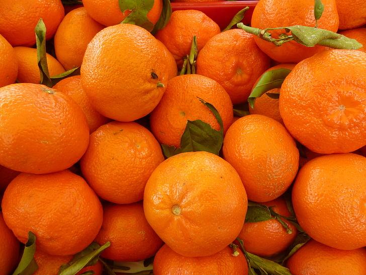 mandarines, taronja, fruita, cítrics, aliments, taronja - fruita, frescor