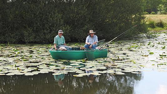 fishermen, fishing, fisherman, boat, fishing rod, angling, fisherman boat