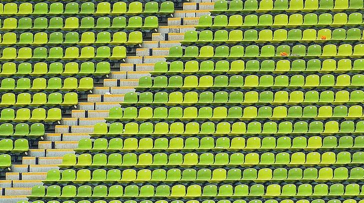Estadi Olímpic, Parc Olímpic, seients, Estadi, Munic, Centre d'esports, patró