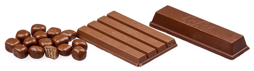 Шоколад у плитці, Kit kat, Ненажерливість, цукерки, десерт, продукти харчування, горіхи