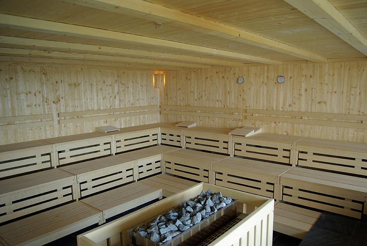 ซาวน่าฟินแลนด์, สุขภาพ, สปาเพื่อสุขภาพ, เครื่องทำความร้อน, สุขภาพ, ไม้ - วัสดุ, ในที่ร่ม