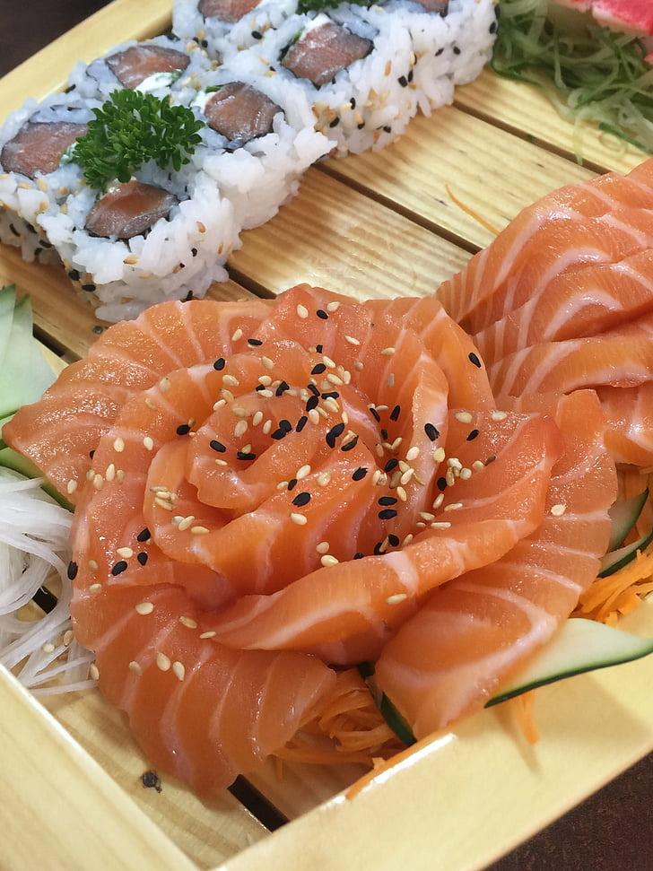aliments, japonès, menjar japonès, marisc, aliments i begudes, sushi, frescor