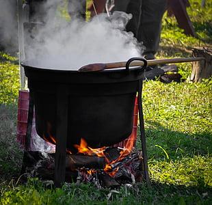 veekeetja, Pada, ettevalmistamine, toidu, soojuse, seadmed, ettevalmistamine