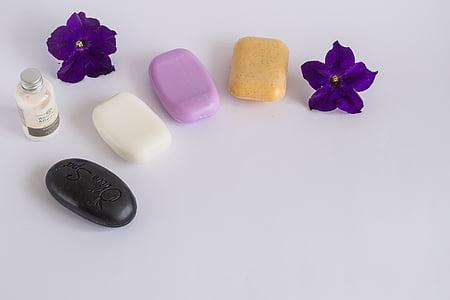 hygiena, Lázně, mýdlo, bílá, černá, mytí, zdraví