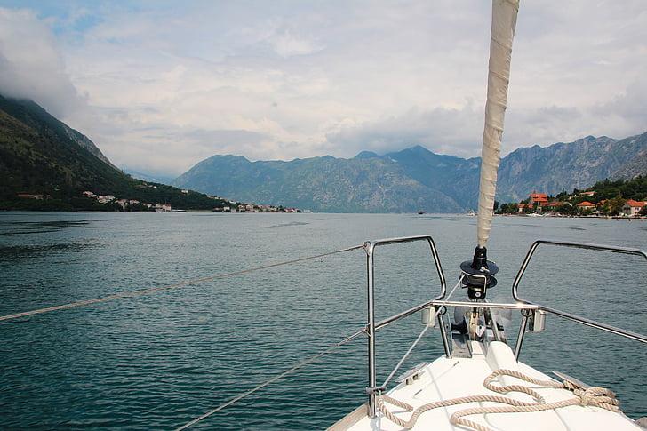 sailing boat, ship, sail, sailing vessel, yacht, sea, shipping