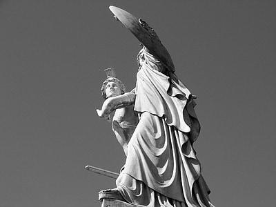 Berlin, skulptur, staty, arkitektur, monumentet, historia, kultur