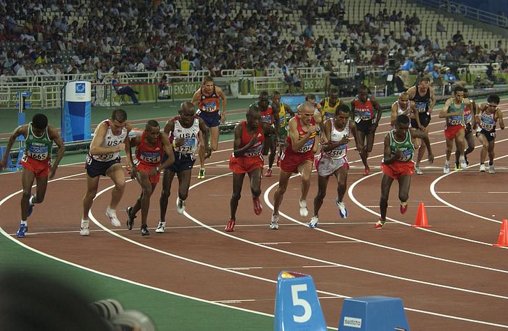 Jocs Olímpics, 2004, Atenes, Grècia, 10, corrent, resultat fent un esprint