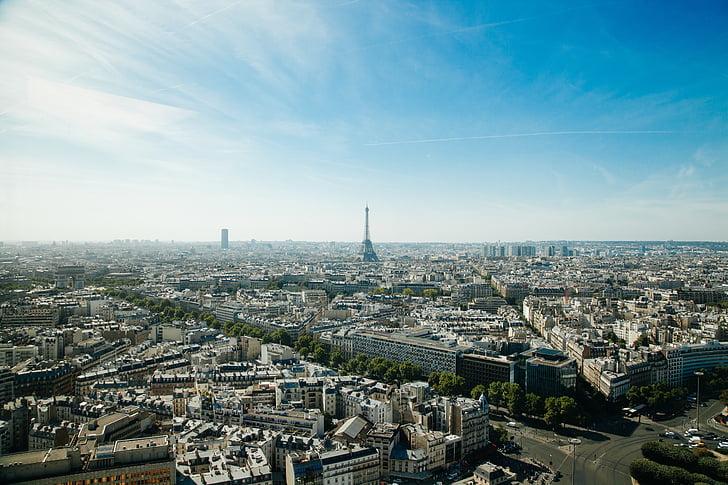 aerial, buildings, city, cityscape, paris, skyline, skyscraper