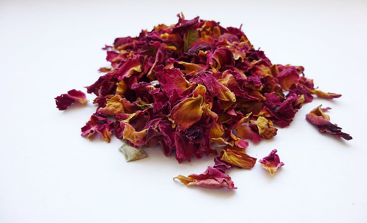 Roses, flors, fulles, incenses, fragància, aroma de, fumar