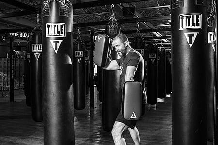 boxejador, boxa, esport, lluita, formació, combat, gimnàs