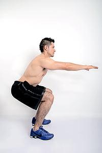 exercici, gimnàs, home, model de, Uvas, només un home, només homes
