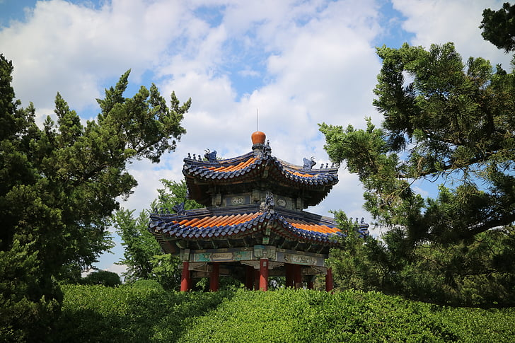 våren, lusthus, Pavilion, temple of heaven