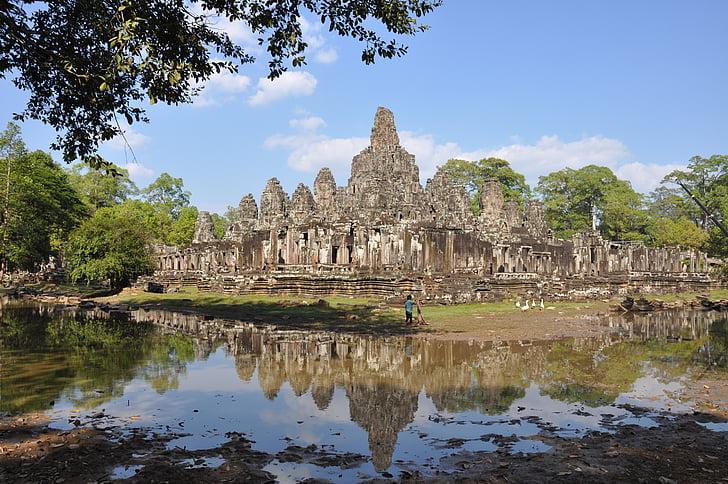 Камбоджа, Сием Реап, Ангкор Том