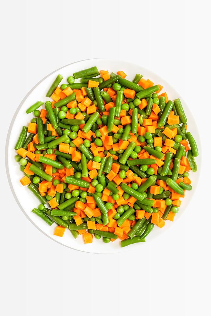 dārzeņi, maisījums, salāti, pārtika, veselīgi, veģetārietis, zaļa