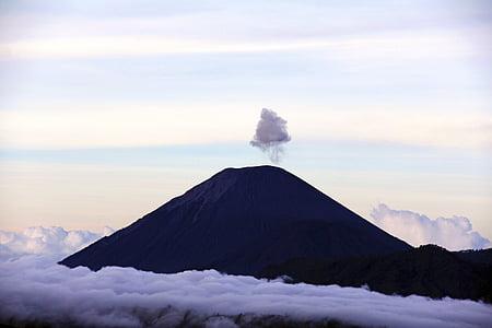 natureza, paisagem, montanha, nuvens, céu, viagens, aventura