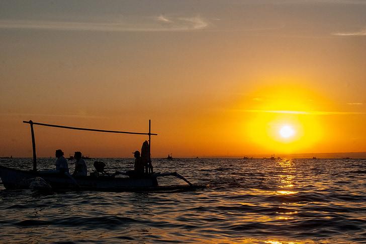 Alba, Mar, sortida del sol sobre el mar, morgenstimmung, ona, morgenrot, natura