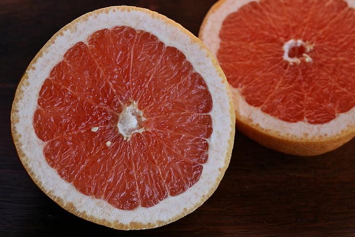 grapefruit, fruit, Sweet, voedsel, dieet, vers, organische