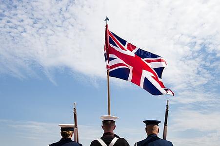 union jack, flag, united kingdom, great britain, northern ireland, national, military