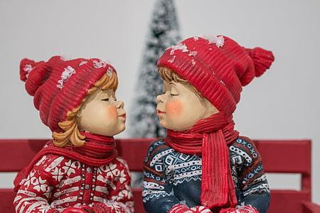 christmas, snow, winter, snowy, santa claus, snowflake, advent