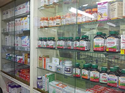 Lekarna, medicine, prehransko dopolnilo, zdravje, medicinske, zdravstveno varstvo, farmacevtske