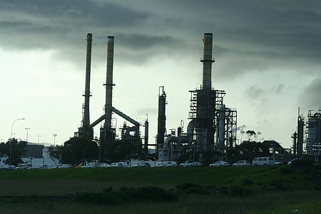 rafineerimistehase, nafta, õli, tööstus, taim, tehase, tööstus