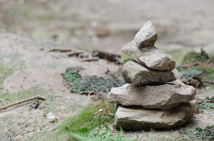 stone, stack, background image, wallpaper, stone tower, stack stones
