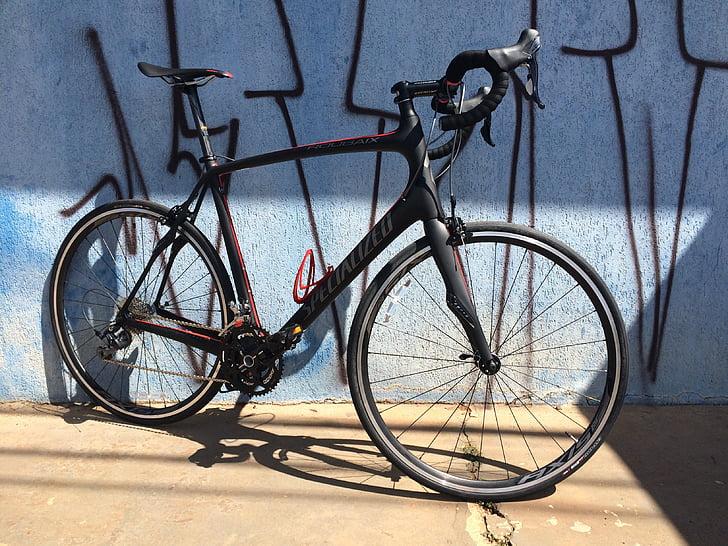 bicicleta, determinació, roadbike, Roubaix