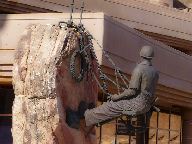 Lake mead, bức tượng, Đài tưởng niệm, Hồ chứa nước, đập Hoover, Nevada, địa điểm du lịch