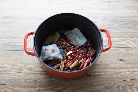 compote d'épices, anis étoilé, Pelargonium, alimentaire, bois - matériau, cuisine, épice