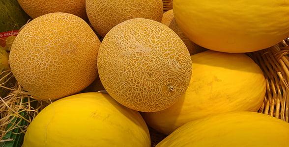 Lubenice, dinja, voće, tržište