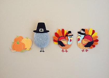 acció de gràcies, Turquia, temporada, vacances, estudi de tir, no hi ha persones, múltiples colors