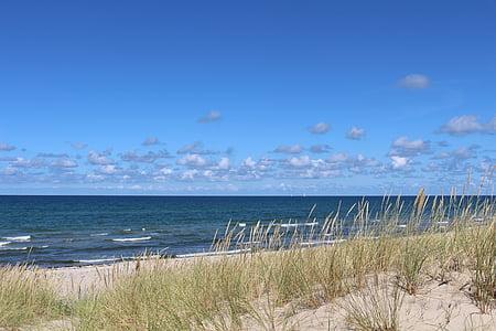 Baltijas jūrā, jūra, pludmale, krasts, daba, ūdens, vilnis