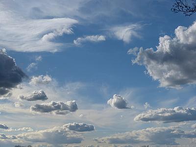 khuất bầu trời, đám mây, Thiên nhiên, tâm trạng, Đẹp, bầu trời, đám mây đen