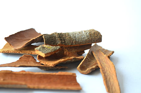 cinnamon, sticks, spices, food, brown, ingredient, aroma