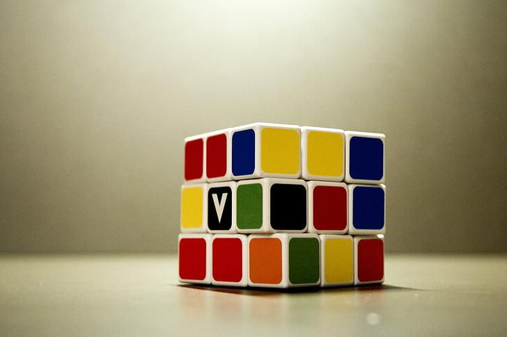 rubik's cube, game, strategy, cube, idea, winner, challenge