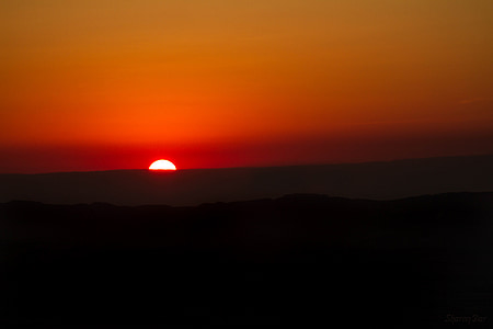 sunset, orange, sun, nature, sunrise, sky, yellow