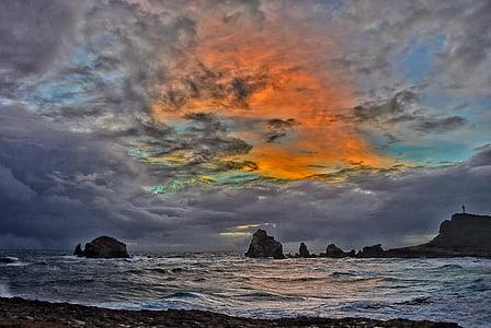 cel, núvol, tempesta